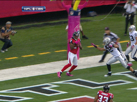 Video - Atlanta Falcons wide receiver Roddy White 4-yard TD catch
