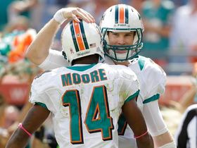 Video - Miami Dolphins quarterback Ryan Tannehill 29-yard TD pass to Marlon Moore