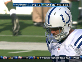 Video - Luck picked off for 2nd time