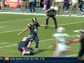 Video - Greg Zuerlein misses 3 FG's vs. Dolphins
