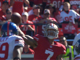 Video - Kaepernick to Manningham for 36 yards
