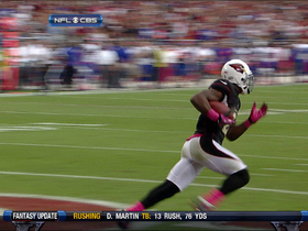 Video - Peterson 15-yard INT return