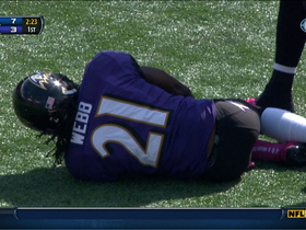 Video - Lardarius Webb injured