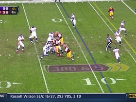 Redskins defense, INT