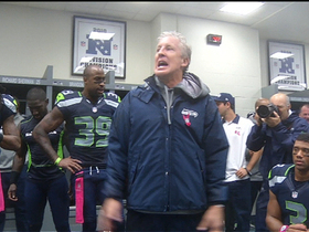 Video - Seattle Seahawks head coach Pete Carroll celebrates big win