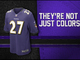 Watch: Evolution of Ravens colors