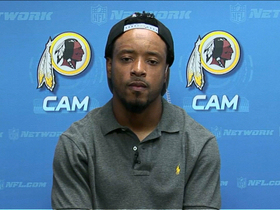 Video - Washington Redskins wide receiver Santana Moss on RG3: 'You know he's going to make a play'