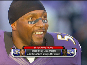 Video - Baltimore Ravens lose Ray Lewis and Lardarius Webb for season