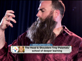 Video - 'NFL AM' welcomes in Pittsburgh Steelers defensive lineman Brett Keisel
