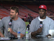 Watch: Niners&#039; Smiths visit &#039;Thursday Night Football&#039; set
