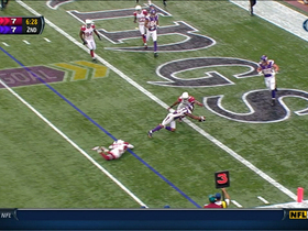 Video - Minnesota Vikings quarterback Christian Ponder 3-yard touchdown to wide receiver Percy Harvin