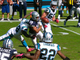 Watch: Panthers force Austin fumble