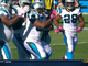 Watch: Tolbert 2-yard TD run