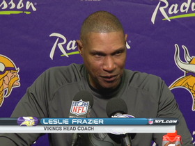 Video - Minnesota Vikings postgame press conference