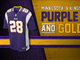 Watch: Evolution of the Vikings colors