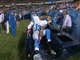 Watch: Nate Burleson breaks his leg
