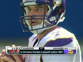 Video - Is Minnesota Vikings quarterback Christian Ponder a playoff-caliber QB?