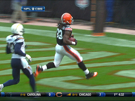 Video - Cleveland Browns running back Trent Richardson 26-yard TD