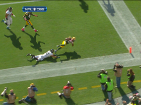 Video - Green Bay Packers wide receiver Randall Cobb 5-yard touchdown catch