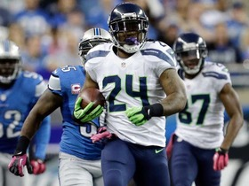 Video - WK 8 Can't-Miss Play: Seahawks running back Marshawn Lynch goes into beast mode