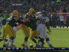 Video - Jacksonville Jaguars defensive lineman Andre Branch recovers Rodgers fumble