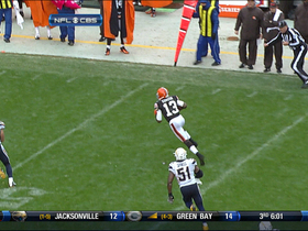 Video - Cleveland Browns quarterback Josh Weeden finds speedy wide receiver Josh Gordon for a 26-yd gain