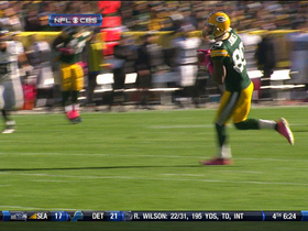 Video - Green Bay Packers quarterback Aaron Rodgers finds wide receiver James Jones for a 31-yard reception