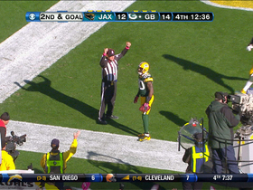 Video - Green Bay Packers wide receiver Donald Driver 4-yard TD catch