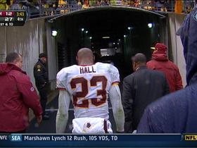 Video - DeAngelo Hall ejection