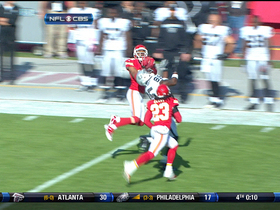 Video - Kansas City Chiefs cornerback Stanford Routt picks off Carson Palmer