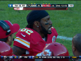 Video - Kansas City Chiefs wide receiver Dwayne Bowe 46-yard catch-and-run