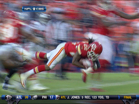 Video - McCluster 10-yard grab-and-dive TD