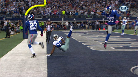 Dallas Cowboys Wide Receiver Dez Bryant S Near Miracle Catch