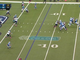 QB Stafford to WR Broyles, 6-yd, pass, TD