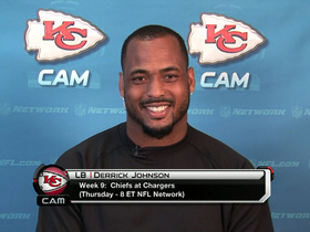 Video - Kansas City Chiefs LB Derrick Johnson talks 'Thursday Night Football'