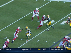 Video - Green Bay Packers quarterback Aaron Rodgers finds Randall Cobb for a 13-yard TD