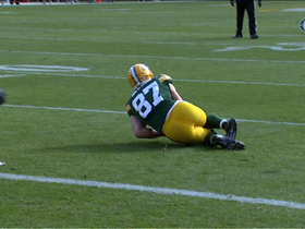Video - Nelson injures ankle
