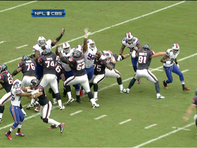Video - Buffalo Bills block Texans FG attempt