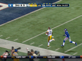 Video - Pittsburgh Steelers wide receiver Mike Wallace 51-yd TD