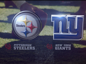 Video - Pittsburgh Steelers vs. New York Giants highlights