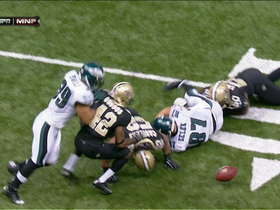 Celek fumble