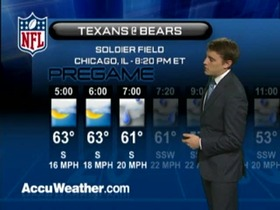 Video - Weather update: Texans  @ Bears