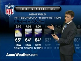 Video - Weather update: Chiefs  @ Steelers