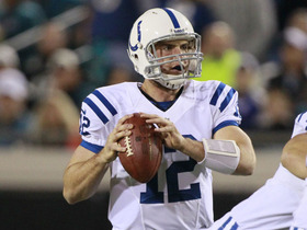 Video - First-round QBs advise Luck