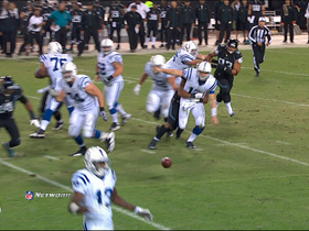 Video - Jeremy Mincey recovers Andrew Luck fumble