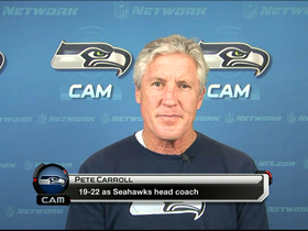 Video - Pete Carroll talks Russell Wilson and Mark Sanchez