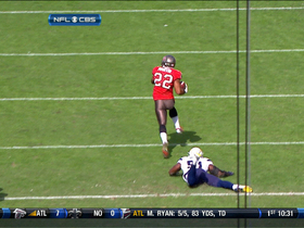Video - Tampa Bay Buccaneers RB Doug Martin 42-yd catch