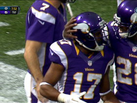 Video - Vikings rookie WR Jarius Wright 3-yard TD catch
