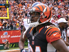 Video - Bengals DB Adam Jones 68-yard punt return