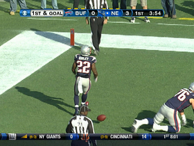 Video - Patriots RB Stevan Ridley 1-yard touchdown run
